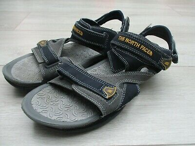 The North Face Mens El Rio Sandals Pool Shoes Holiday Hiking 10 UK Grey Blue • 30£