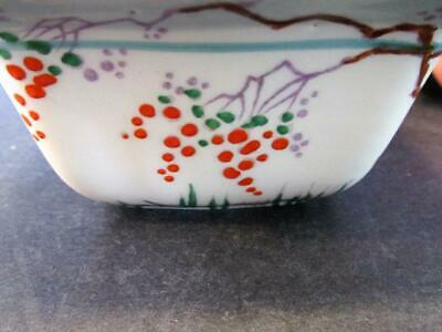 $ CDN11.52 • Buy BEAUTIFUL ROYAL WINTON GRIMWADES SQUARE HAND PAINTED SMALL DISH ENGLAND 1930s