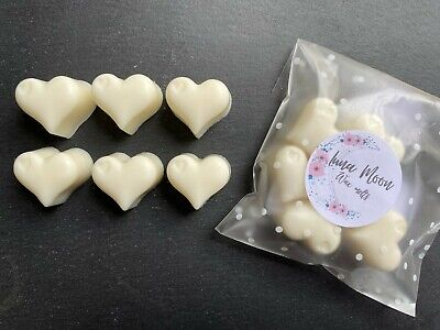 Zoflora Mountain Air Inspired Highly Scented Wax Melt Hearts X 6 • 2.30£