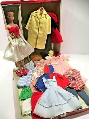 $ CDN89.81 • Buy Vintage LOT  Fashion Queen Barbie/Midge Doll W Vintage Clothes And Case LOTs!!