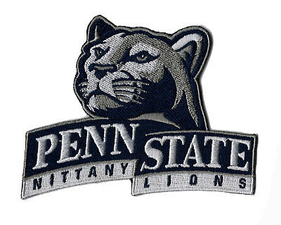 $6.99 • Buy 🏈 4  University Of PENN STATE NITTANY LIONS Team Logo Iron-on Jersey PATCH!