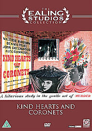 Kind Hearts And Coronets Dvd Valerie Hobson Brand New & Factory Sealed • 6.49£
