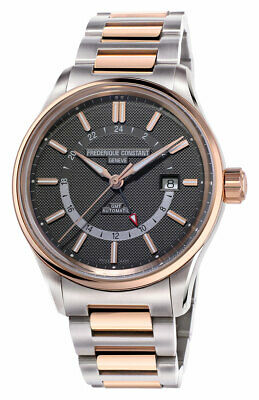 $1399 • Buy Frederique Constant Yacht Timer GMT Automatic Steel Mens Watch FC-350GT4H2B