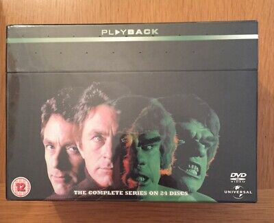 The Incredible Hulk Ultimate Collection Complete Series DVD • 40£