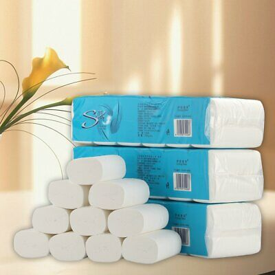 AU11.99 • Buy 12 Rolls Toilet Paper Bulk Rolls Bath Tissue Bathroom White Soft 4 Ply AU STOCK