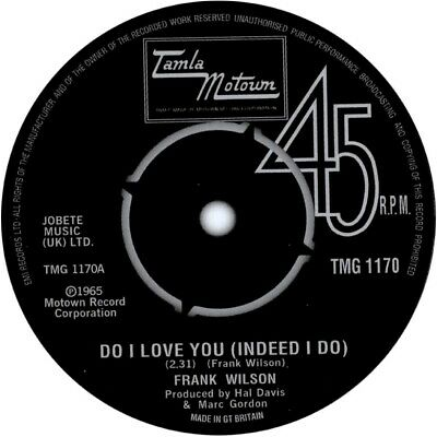 Superb Northern Soul Record Coaster - Do I Love You • 3£
