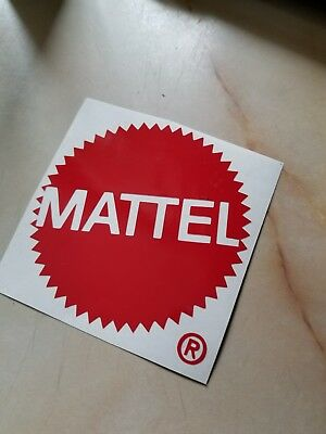 $2 • Buy Mattel Toys Logo 4 Inch Vinyl Car / Wall Decal Masters Of The Universe Barbie