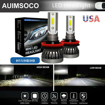 $15.51 • Buy For Ford Focus 2005-2018 Car LED Headlights DRL H11 Bulbs 120W 13000LM White