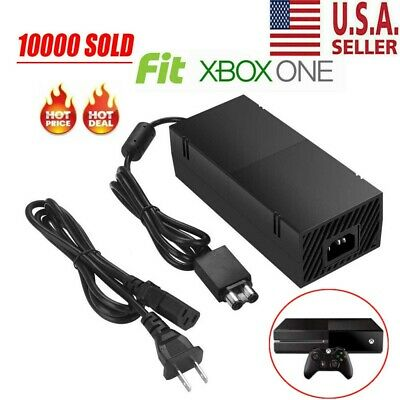 $25.99 • Buy Power Supply Brick AC Adapter Cord Charger Replacement For XBox One W/ Cable US