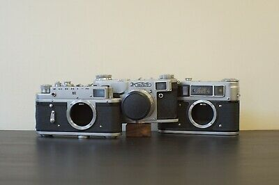 Joblot Russian FED Zorki Rangefinder Cameras For Spares & Repair • 1.20£