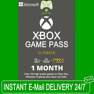 $1.49 • Buy Xbox Live 14 Day Gold Trial + Xbox Game Pass Ultimate Code - INSTANT DELIVERY