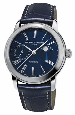 $1849 • Buy Frederique Constant Classic Moonphase Manufacture Automatic Men Watch FC712MN4H6