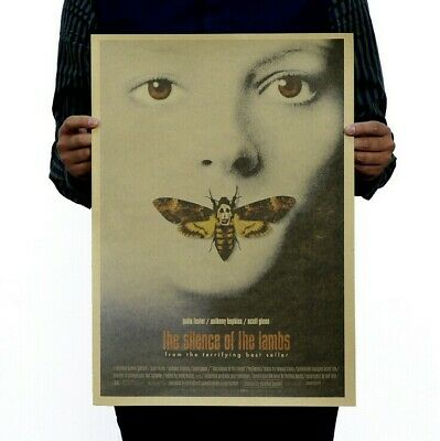 $ CDN4.61 • Buy Old Movie Silence Of The Lambs Vintage Poster Home Bar Art Wall Decor 14 X20