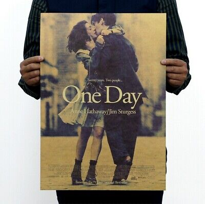 $ CDN4.61 • Buy Vintage Old Movie One Day Poster Home Bar Coffee Shop Art Wall Decor 14 X20