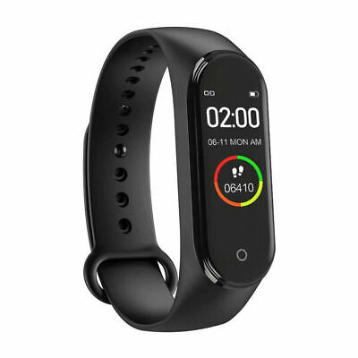 $ CDN34.25 • Buy Bluetooth Bracelet Smart Watch For Sports Heart Rate Blood Pressure Monitoring
