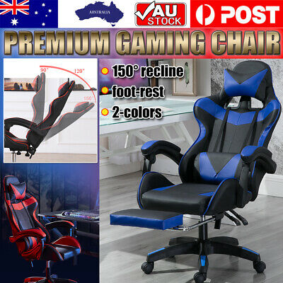 AU142.99 • Buy 2020 Gaming Chair Office Executive Computer Chairs Seating Racing Recliner AU