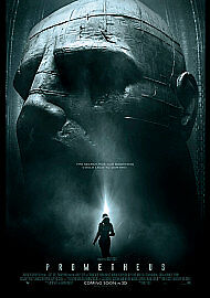 Prometheus (2012) [DVD] DISC AND COVER ONLY - FREE POST • 1.57£