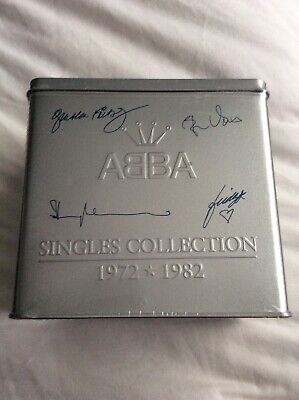ABBA Singles Collection Tin, New And Sealed • 179.99£