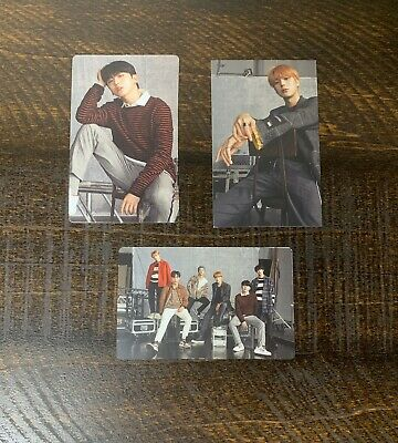$10 • Buy Monsta X All About Luv MINHYUK, KIHYUN, GROUP Official Photocards