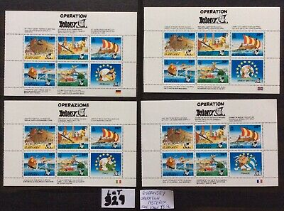 Guernsey Operation Asterix Face Value £5.56 Catalogue £12.50 Unmounted Mint(329) • 3.19£