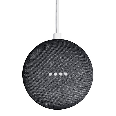 AU59 • Buy Google Home Mini Smart Speaker & Home Assistant - Charcoal - [Au Stock]