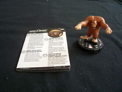 £70 • Buy DC Heroclix Justice League Unlimited JLU - GORILLA GRODD #067 Chaser Chase Rare
