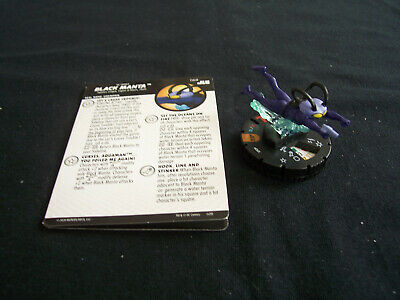 DC Heroclix Justice League Unlimited JLU - BLACK MANTA #068 Chaser Chase Rare  • 40£