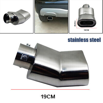 $ CDN49.01 • Buy 1PC 63MM Inlet Car Auto Elbow Muffler Tip Exhaust Pipe Stainless Steel Universal