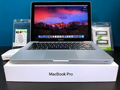 $579 • Buy Apple MacBook Pro 13  / 2.9GHz CORE I5 TURBO / 500GB HD / OSX-2017 / WARRANTY!