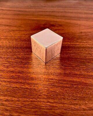 Rare Tiffany & Co. Modernist Cube Sterling Silver Nutmeg Or Cheese Grater • 232.60£