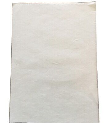 £4 • Buy A4 30gsm White Mulberry Rice Paper Decoupage Art Craft Printing Pack 10