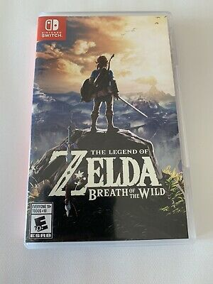 $31 • Buy Legend Of Zelda: Breath Of The Wild (Nintendo Switch, 2017)
