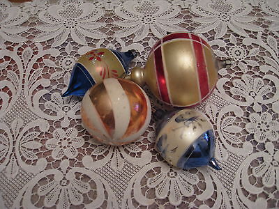 $ CDN9.99 • Buy Vintage Christmas Ornaments. Lot Of 4, Two Marked  Poland