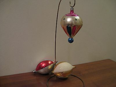 $ CDN9.99 • Buy Vintage Christmas Ornaments. Lot Of 3, Made In Poland, Mica.