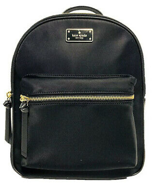 $ CDN131.82 • Buy NWT KATE SPADE NEW YORK LARGE Bradley Wilson Road Backpack Nylon Black WKRU4717