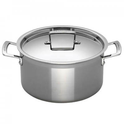 Le Creuset 3-Ply Stainless Steel Deep Casserole Dish - 20cm -  For All Hob Types • 252£