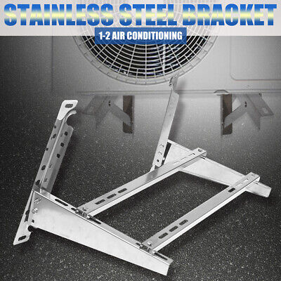 Split Air Conditioner Wall Mount Galvanized Steel Bracket  201 Stainless Steel • 56.17£