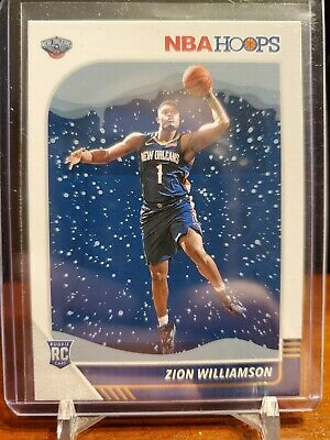 $0.99 • Buy 2019-20 Panini Hoops Basketball Holiday Zion Williamson Rookie Pelicans