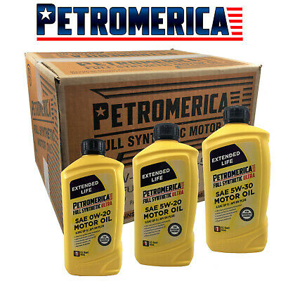 $ CDN75.17 • Buy Full Synthetic Motor Oil Extended Life Ultra Petromerica 0W20 5W20 5W30 9 QUART
