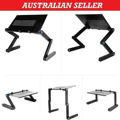 AU45.59 • Buy Portable Foldable Laptop Stand Desk Table Tray Adjustable Sofa Bed Mouse Pad Kit