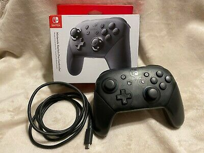 $51.99 • Buy Official OEM Nintendo Switch Pro Controller |OPEN BOX, Working Authentic