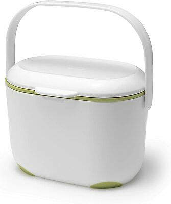 Mini Food Waste Bin Addis 2.5 L Kitchen Compost Caddy Small Removable Lid • 16.98£
