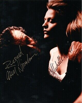 £200 • Buy Jack Nicholson And Michelle Pfeiffer  Wolf  Hand Signed 10x8 Photo Autographed