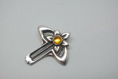 Antique Charles Horner Silver Hat Pin 1910 Art Nouveau Top Cap Only  • 45.99£