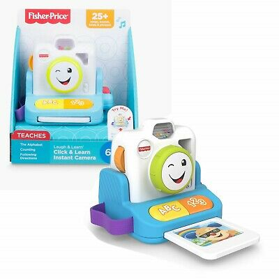 Fisher Price Instant Camera With Sounds Click & Learn TOY • 16.99£