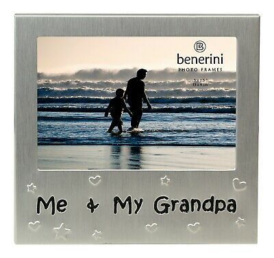 £5.50 • Buy Me & My Grandpa Photo Picture Frame Fathers Day Birthday Xmas  Grandad Gifts