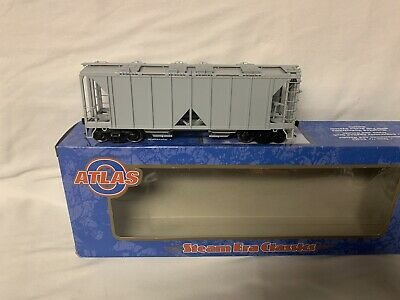 $ CDN98.85 • Buy ✅atlas O 2-rail Undecorated 70 Ton Covered Hopper Car 3006100! New O Scale