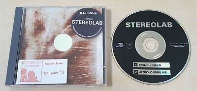 STEREOLAB Jenny Ondioline/French Disko 1993 UK CD With Handmade Sleeve 1000-only • 29.99£