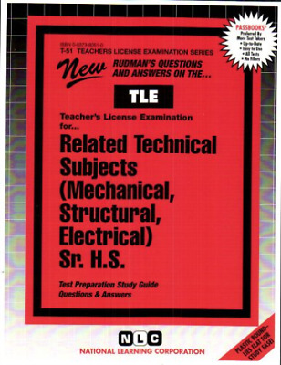 £30.18 • Buy National Learning Corporation-`Related Technical Subjects (Mechanical,  BOOK NEW