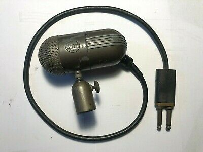 $249.95 • Buy Vintage 1940's RCA 88-A MI-4048-E Bullet Harp Pill Dynamic Broadcast Microphone